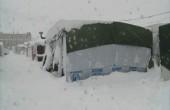 11 ضحية جراء العاصفة من اللاجئين السوريين في لبنان
