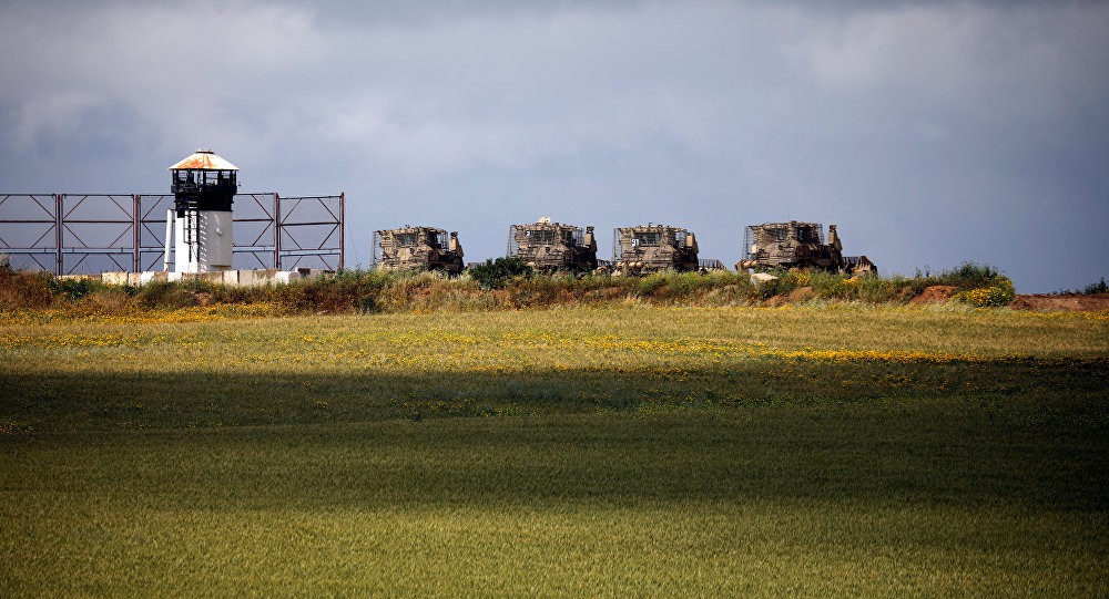 الاحتلال حدود غزة قوات
